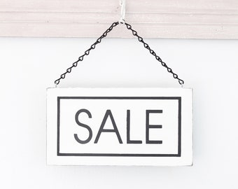 Modern Sale Sign, Sale Sign, Custom Sign, Store Sign, Wall Art, Wood Sign