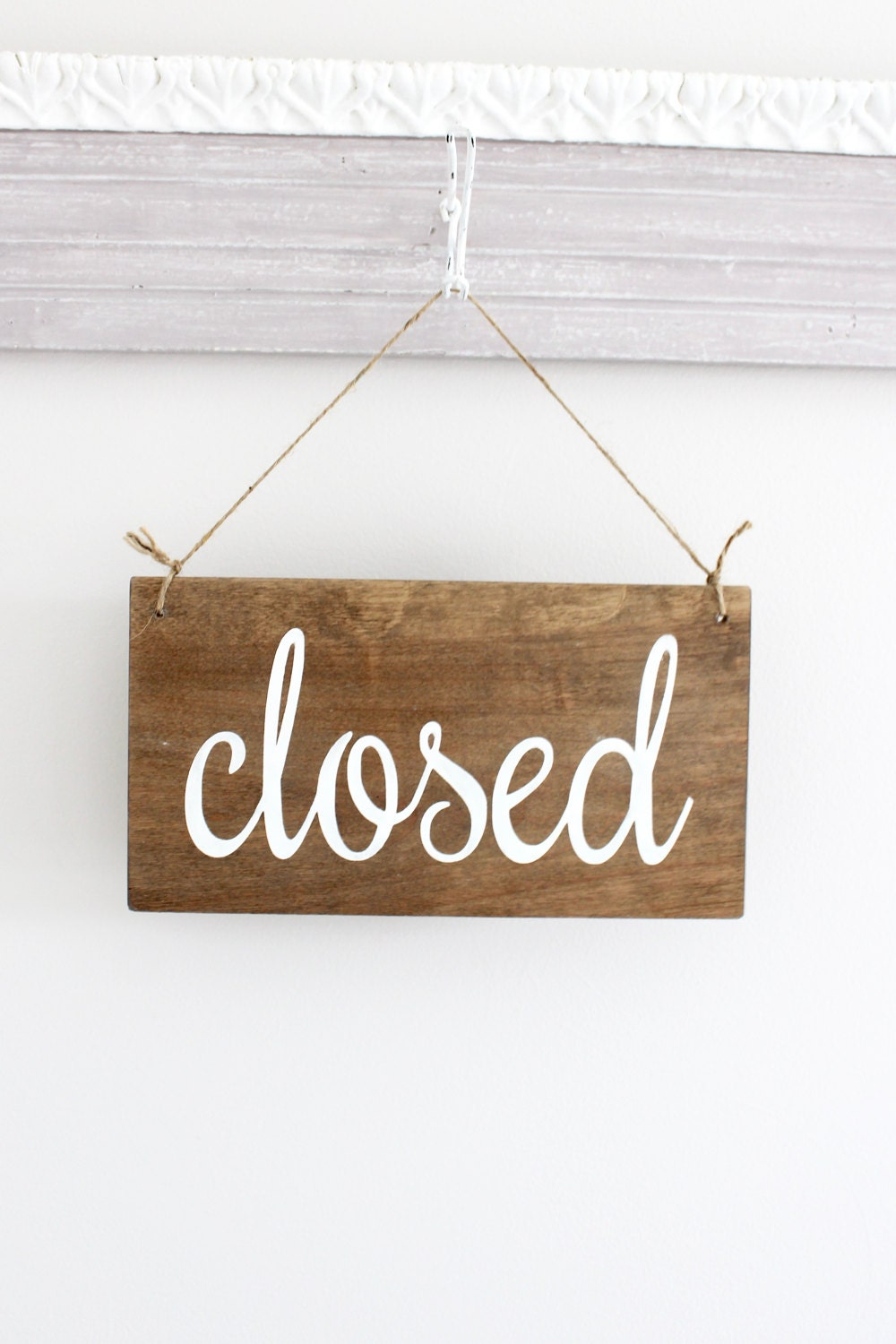 Open Closed Business Sign, Open Sign, Closed Sign, Custom Sign, Store Sign,  Office Sign, Wall Art, Wood Sign