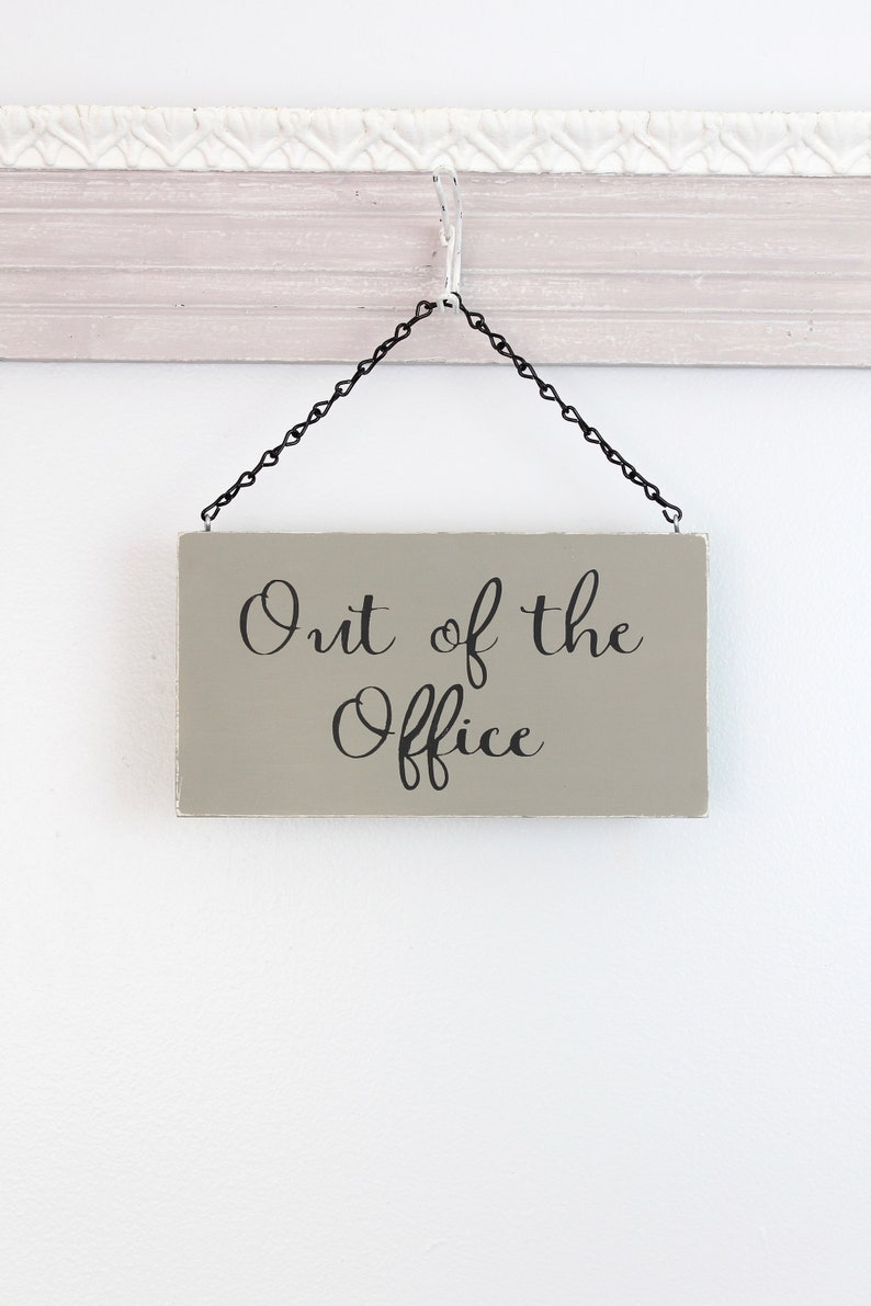 Out of Office Sign In Session Business Sign Office Sign image 0
