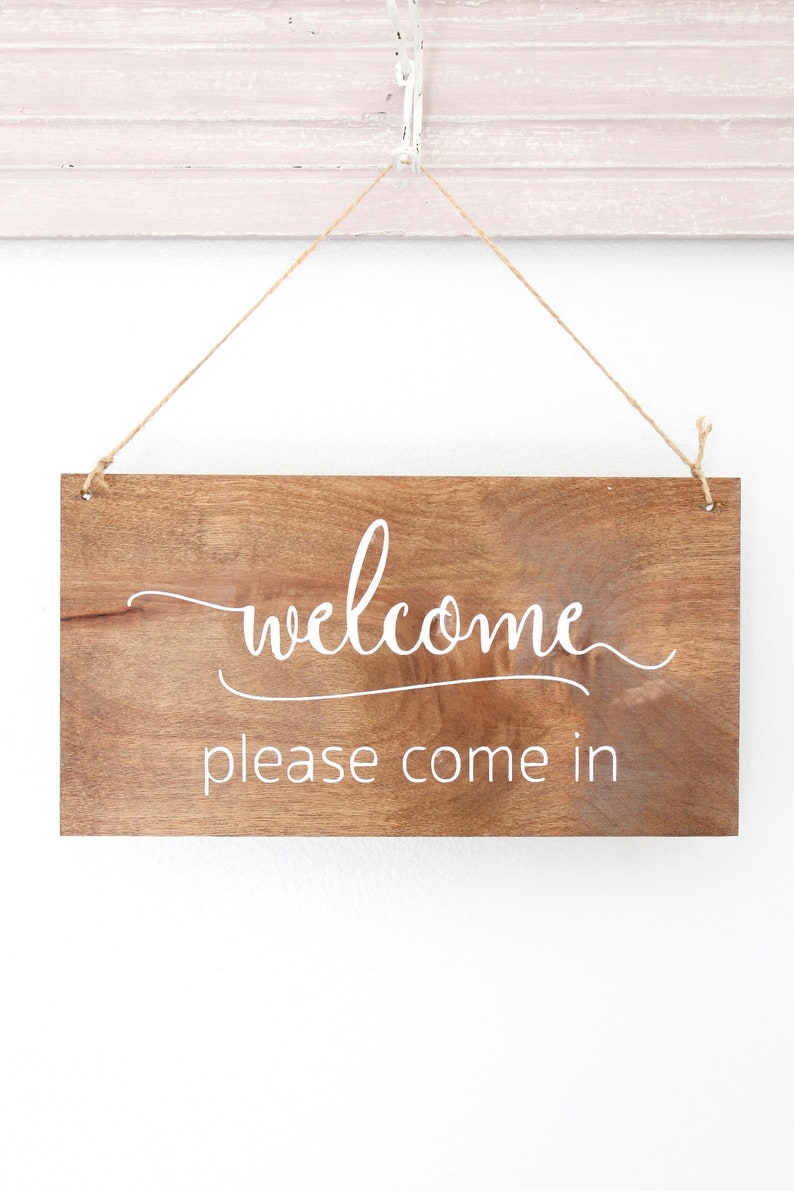 Welcome Sign In Session Sign Office Sign Sign Custom Sign image 0