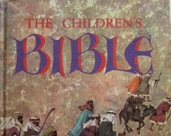 The Children's Bible - The Old and New Testament - 1990 - Nice, solid book