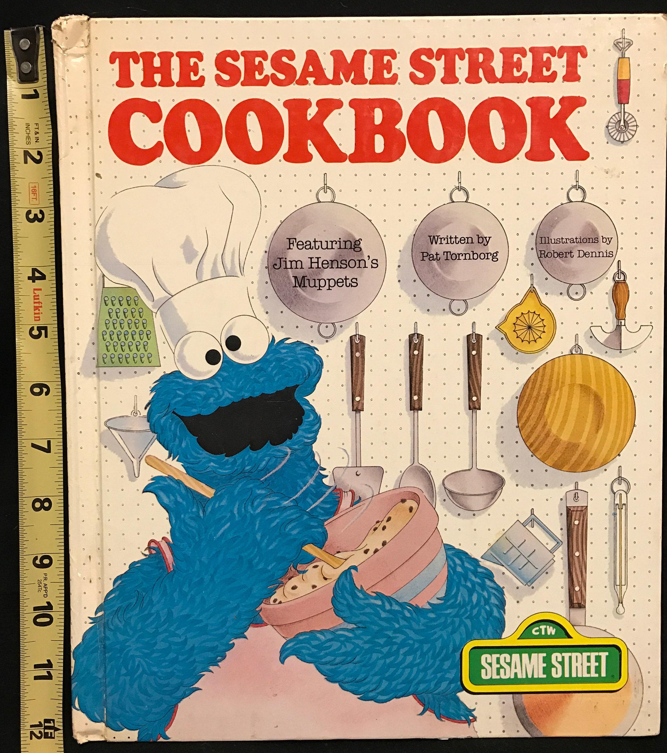 Die Sesamstraße Kochbuch Mit Hensons Muppets Geschrieben von   Etsy