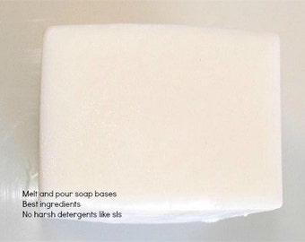 Shea Butter Melt and Pour Soap base 1 Lb wrapped