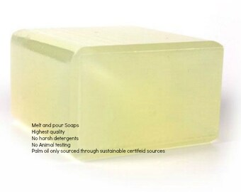 Olive Oil Melt and Pour Soap Base made with real Olive Oil 1 Lb