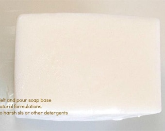 Castile Soap Melt and Pour Soap Base 1 Lb Wrapped