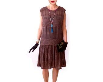 Flapper Dress 1920s Dress Roaring 20s Dress Black Dress | Etsy