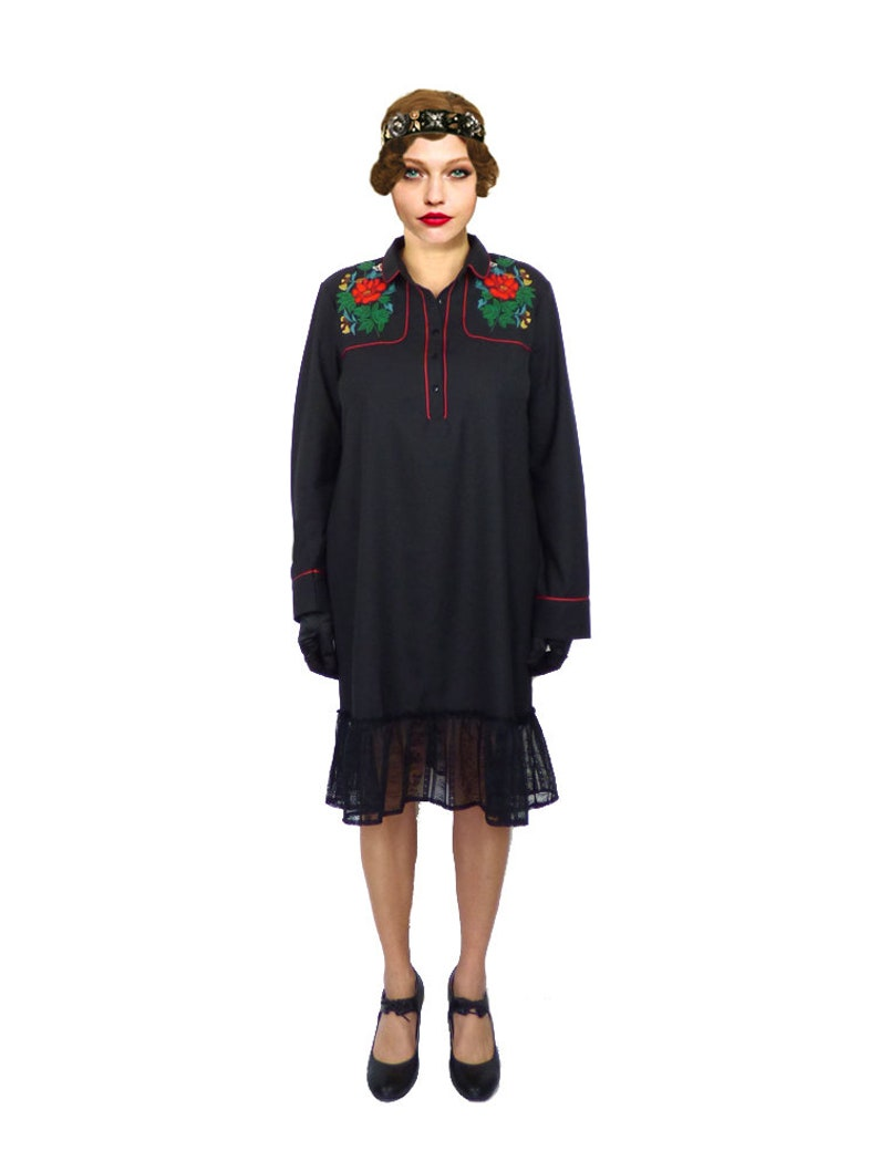 9f7b01b8d4 Black Lace Shift Dress Plus Size - Gomes Weine AG