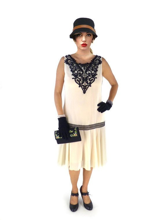 1920s Dress 20s Dress Roaring 20s Dress Flapper Dress Etsy