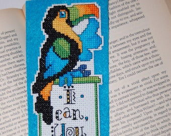 Toucan Cross Stitch Bookmark