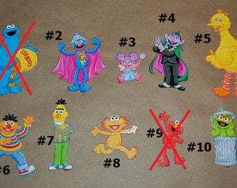 Sesame Street Chipboard