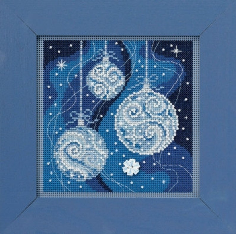 Mill Hill Kit  Ornament Elegance  Christmas Cross Stitch image 0