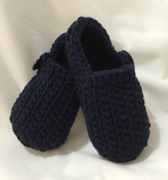 baby loafers black