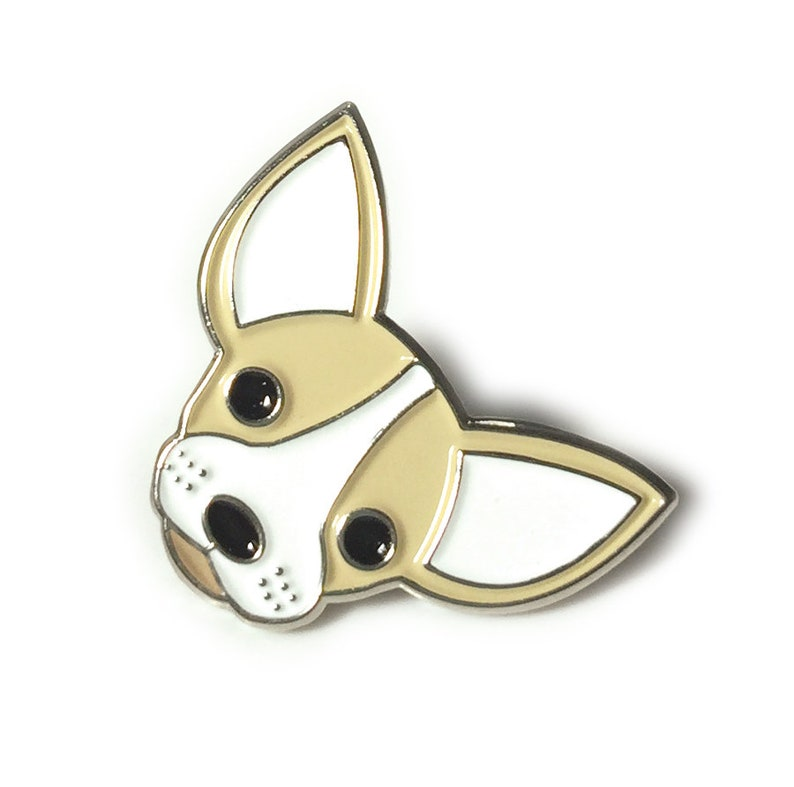 Men Chihuahua Owner Gift Teens Chihuahua Dog Enamel Pin for Women