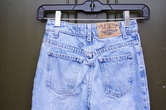 Daisy Print mom jeans