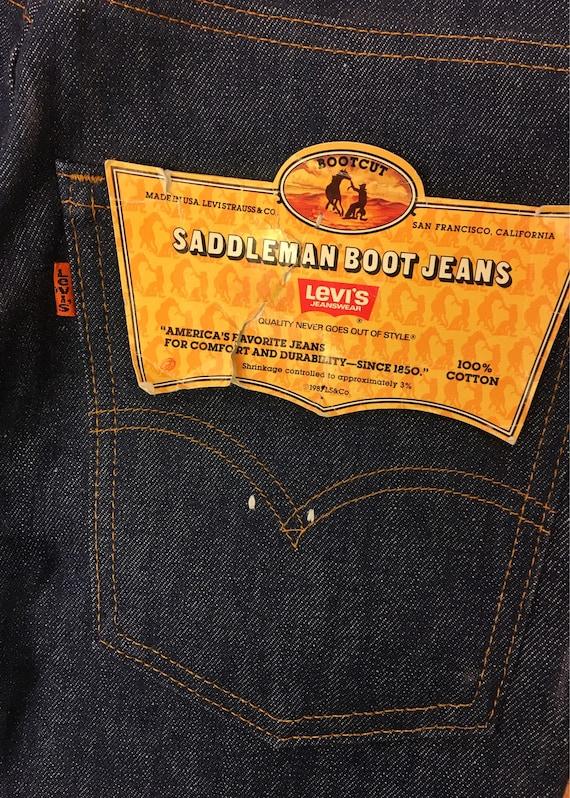Deadstock Levis Jeans - image 4