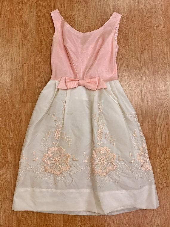 Crinoline and Cream Princess Dress