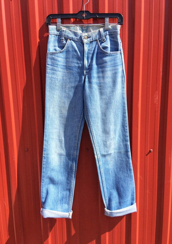 1970s Orange-Tab Levis Mom Jeans