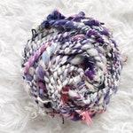 Scrap Yarn Handspun Wool Yarn for weaving -SEVEN | Weaving Yarn