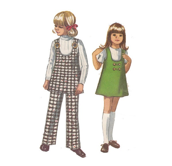 PUENTE patrón Jiffy Simple coser túnica niña niño   Etsy