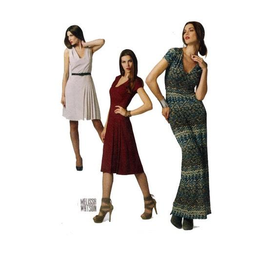 Sexy Kleid Schnittmuster Cap Sleeve A Line oder geraden | Etsy