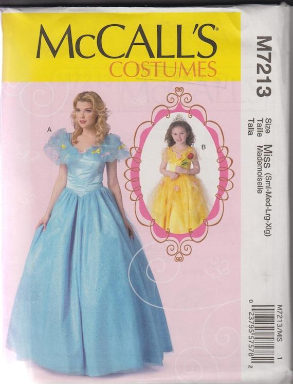 Belle Kostüm nähen Muster erwachsenen Frau Prinzessin Kleid   Etsy