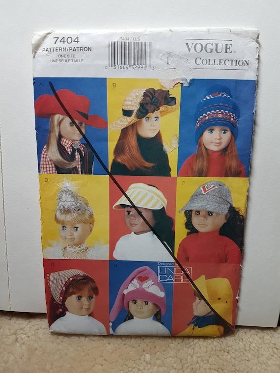 Schnittmuster für die Puppe Hüte 18-Zoll-Puppe Cowboy-Hut | Etsy