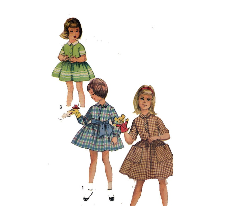 94f2a726267df9 Kind kleding naaien patroon stropdas riem Peter Pan kraag