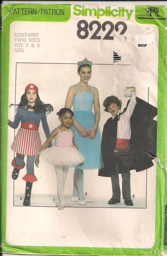 Tutu-Schnittmuster für Kinder Kostüme Ballerina Zauberer | Etsy