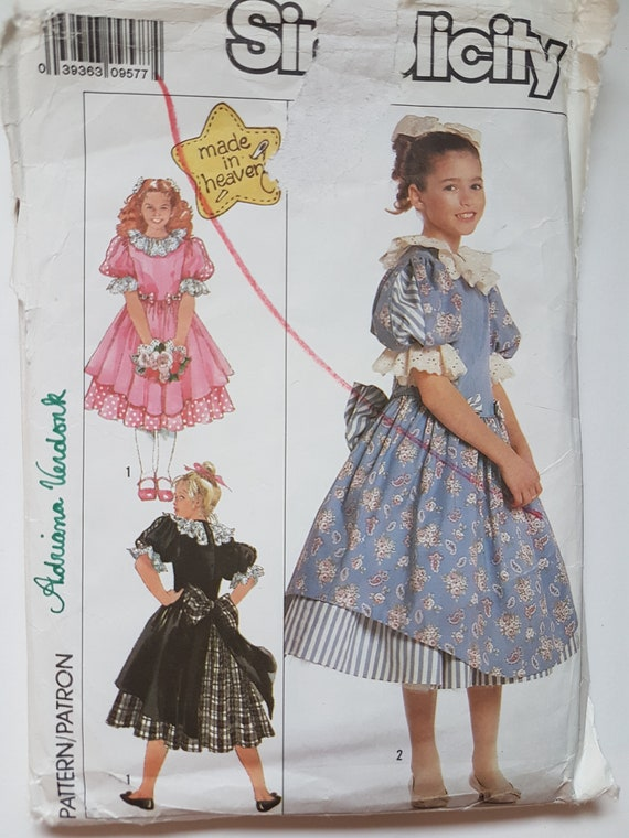 Sewing Pattern for Lolita Dress and Petticoat by Adriana | Etsy