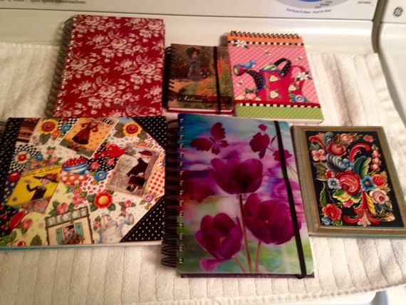destash journals pads address books pretty things etsy