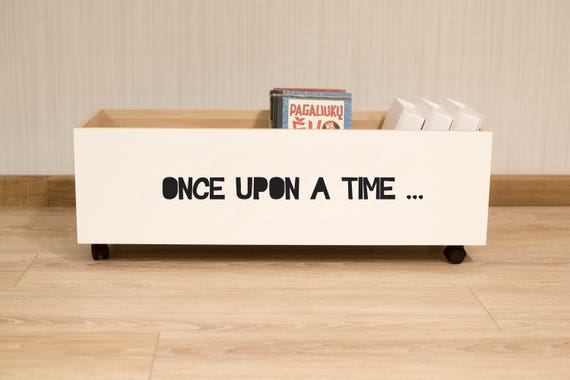 Kids Bookshelf Once Upon A Time Wood