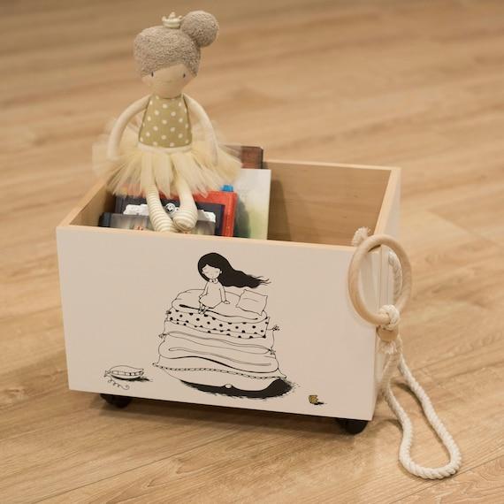 Nursery Bookshelf Baby Storage Bin Kids Book