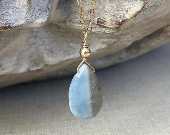 Boulder Opal Pendant Necklace