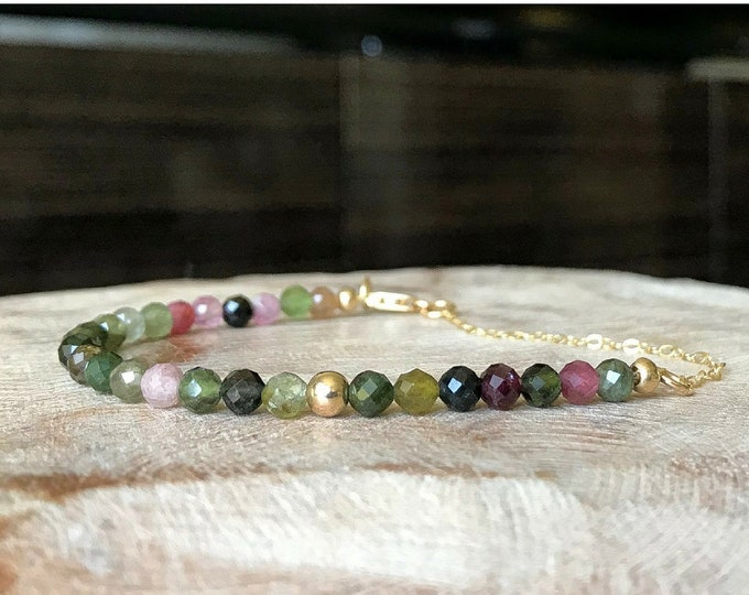 Featured listing image: Tourmaline Bracelet