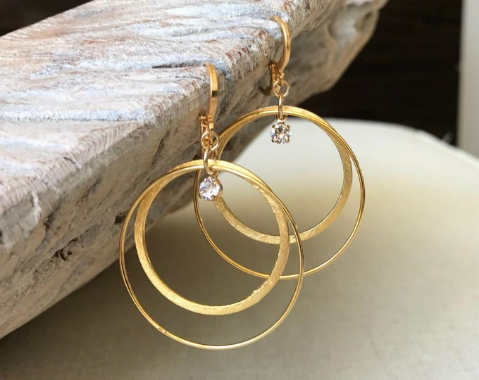 Featured listing image: Large Gold Hoops