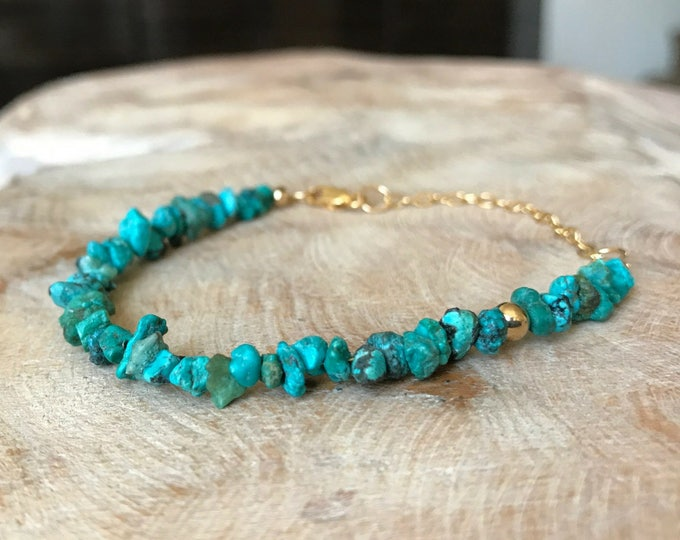 Featured listing image: Turquoise Bracelet in Gold or Silver