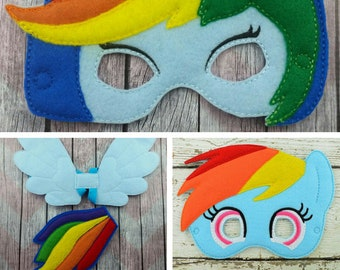 Rainbow Dash Costume Etsy