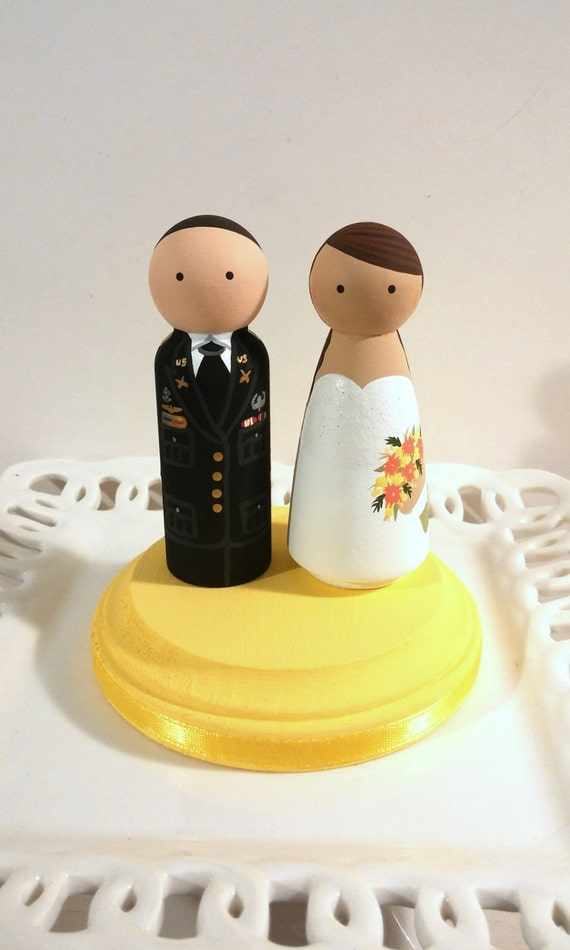 Military Service Cake Cuties Custom Cake Toppers | Etsy
