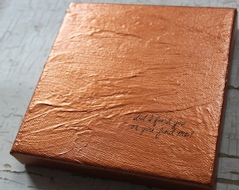 Copper anniversary gifts for husband, 7th Anniversary gift for men, Romantic gifts for him, for her, Personalized gift for men, Love Gifts