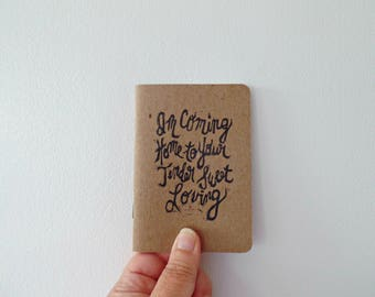 Vow books modern, Wedding vow book, First dance song, Leon Bridges Coming Home music lyrics, Wedding vow booklet, Keepsake, Romantic