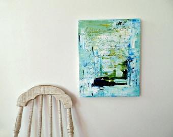 Original abstract painting, Blue painting, Wall art canvas, Contemporary art, Modern abstract art, Modern wall decor, Beach house wall decor