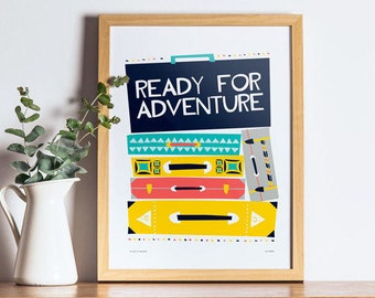 Travel Print, Printable Decor, Travel Gift, Kids Room Decor, Printable Wall Art, Nursery Decor, Kids Room Decor, Gift for Travellers