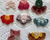 CROCHET OYA Flowers,crochet pattern,oya crochet, oya,crocheted oya bracelet, oya necklace, oya earrings, turkish oya, oya crochet pattern
