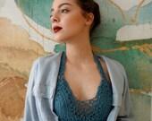 Crochet Pattern: Bohemian bralette,crochet bralette,crochet top, crochet halter top, bralette pattern,bkini pattern, crochet bikini,
