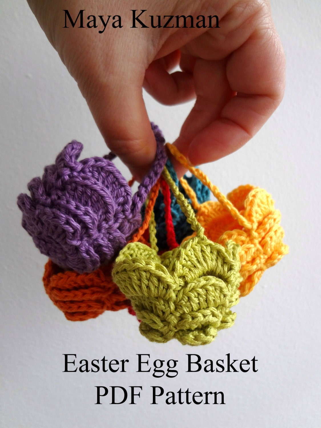 Crochet Pattern Easter Egg Crocheted Basket Cozy Etsy Circuit Will Makes Things Zoom