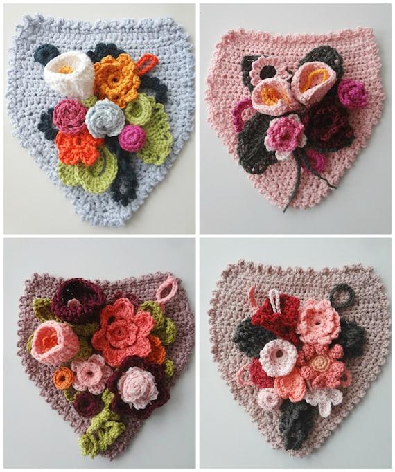 Floral Banner Crochet Pattern Flower Banner Crochet Banner Etsy