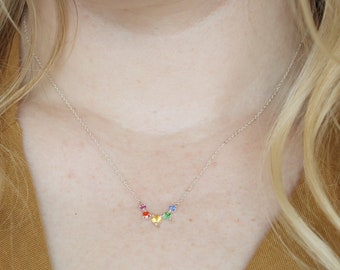 Rainbow Artemis Necklace
