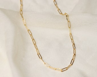 Midday Necklace in Gold Fill