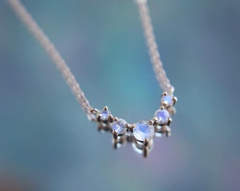 Artemis Necklace in Moonstone