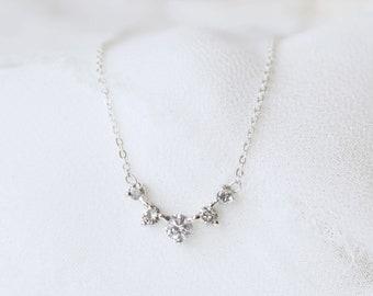 Salt and Pepper Diamond Artemis Necklace
